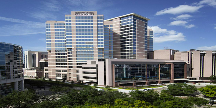 MD Anderson Cancer Center in Houston, Texas