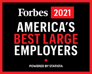 MD Anderson award – Forbes 2019 America's Best Large Employers