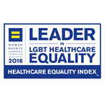 MD Anderson award – Leader in LGBT Healthcare Equality by Healthcare Equality Index